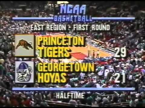 Princeton vs. Georgetown 1989 NCAA Tournament