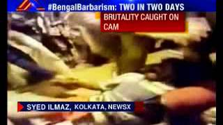 Physically challenged man beaten by cops in Howrah railway station - NEWSXLIVE
