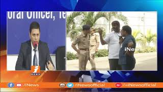 Chief Electoral Officer Rajat Kumar Press Meet Over Telangana Election Results 2018 | iNews - INEWS