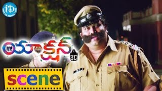 Action 3D Movie Scenes - Allari Naresh Warning Police || Raju Sundharam || Vaibhav - IDREAMMOVIES