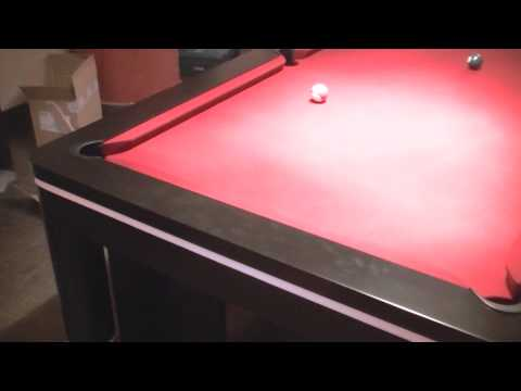 billiard table breton installation