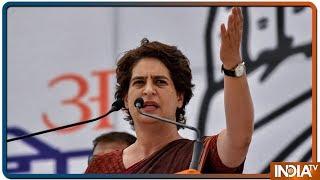 PM Modi को नेहरू परिवार के बारे में बोलने की सनक है: Priyanka Gandhi - INDIATV