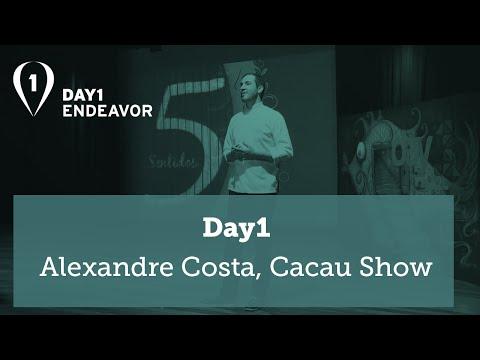 Day1 | Uma história de empreendedorismo - Alexandre Costa [Cacau Show]