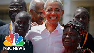 Barack Obama Visits His Father's Childhood Village In Kenya | NBC News - NBCNEWS