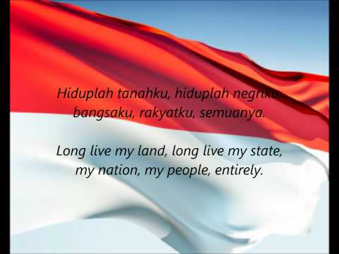 "Indonesian National Anthem - ""Indonesia Raya"" (IN/EN)"