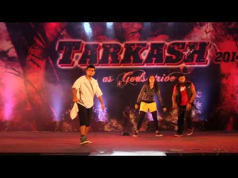 Rahul,Dibesh, Sonia dance performance in ibs bangalore...:)