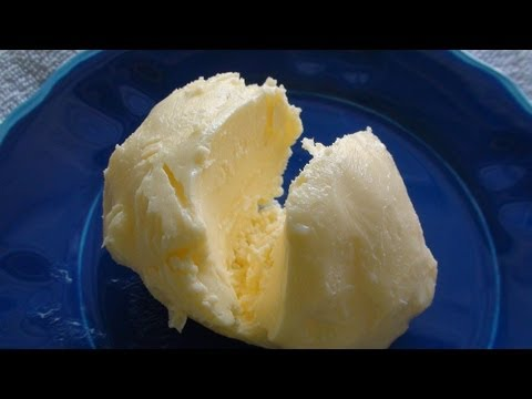 Homemade Butter in just 3 minutes- English