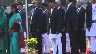 26,Nov 2014 - Indian and Pakistani leaders arrive in Nepal for regional summit - ANIINDIAFILE