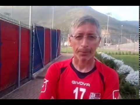 Stefano Liquidato all.Fondi Calcio