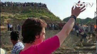 लोकसभा चुनाव 2019: प्रियंका गांधी ने प्रयागराज से शुरू की गंगा यात्रा - NDTVINDIA