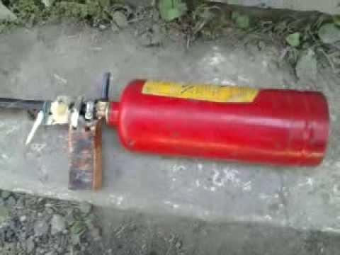 Как сделать пцп из огнетушителя