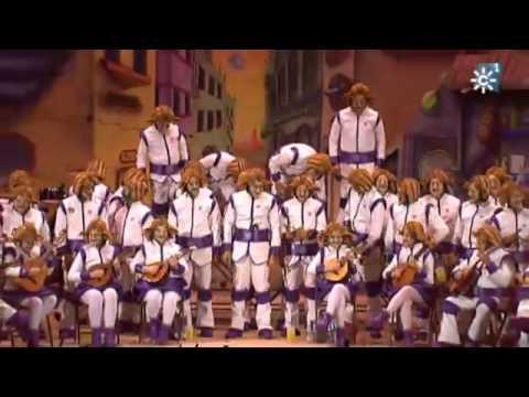 Sesión de Final, la agrupación Ustedes estáis fatá actúa hoy en la modalidad de Coros.
