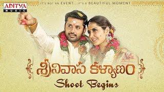 Srinivasa Kalyanam Shoot Begins | Srinivasa Kalyanam Movie | Nithiin, Raashi Khanna | Mickey J Meyer - ADITYAMUSIC