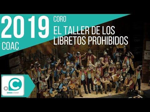 La agrupación El taller de los libretos prohibidos llega al COAC 2019 en la modalidad de Coros. Primera actuación de la agrupación para esta modalidad.