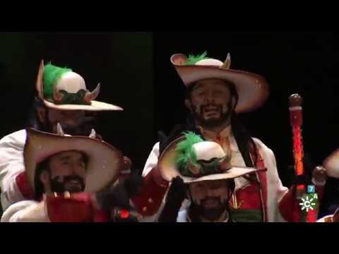 Sesión de Semifinales, la agrupación El diablo se viste de coro actúa hoy en la modalidad de Coros.