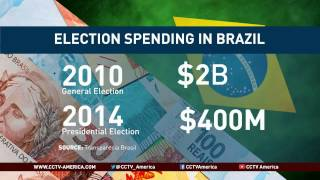 See the news report video by Presidential candidates are spending more than ever in Brazil