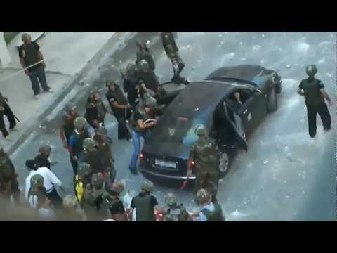 Syrian Revolution - Brutal attack on civlians in Barza - suburb Damascus June 24 2011 24/06