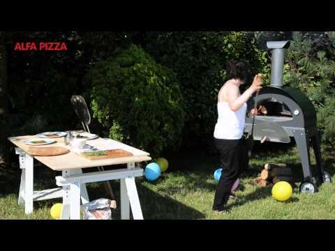 Готовые дровяные печи Alfa Pizza CIAO GREEN