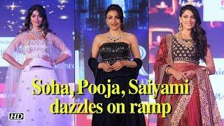 Soha, Pooja, Saiyami dazzles on  ramp - BOLLYWOODCOUNTRY