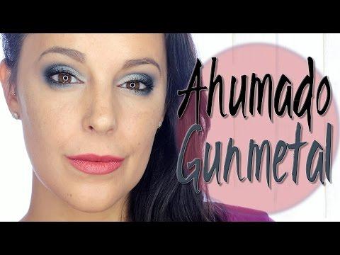 Maquillaje ahumado en GunMetal | Silvia Quiros