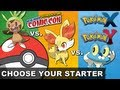 Chespin vs. Fennekin vs. Froakie - Which Pokemon X & Y 3DS Game Starter Will You Choose? VGH Update!