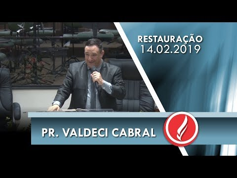 Pr. Valdecir Cabral - A presença de Deus - Exôdo 33.14-15 - 14 02 2019