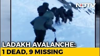 3 Dead, 7 Missing As Avalanche Hits SUV In Khardung La Pass, Ladakh - NDTV