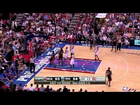 NBA Playoffs 2011: Miami Heat Vs Philadelphia Sixers Game 4 Highlights