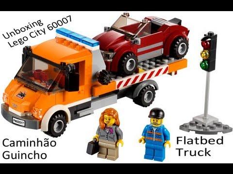 Unboxing - 60017 - Lego City - Caminhão Guincho (Flatbed truck)