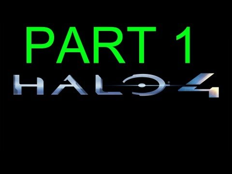 Halo 4 - Halo 4 walkthrough part 1 HD Gameplay single player campaign E3 2012
