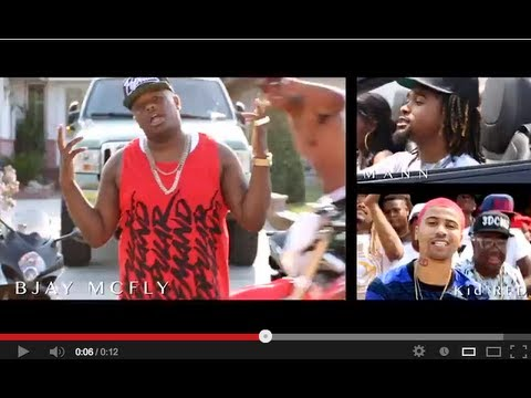 "Bjay Mcfly Feat. Mann and Kid Red  ""The Homie$"" Video"