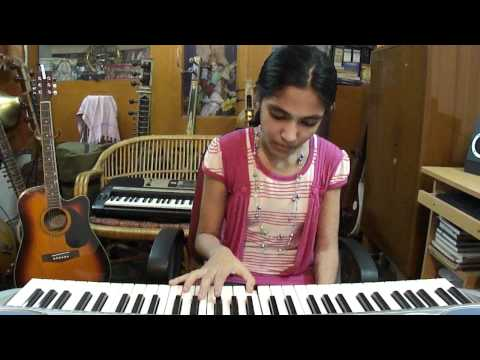 "Keyboard Hindi super song ;""Chura liya hai"" film; yaadon ki Baarat, by Kriti Reddy"