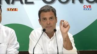Rahul Gandhi Speaks to Media Over Rafale Deal | CVR NEWS - CVRNEWSOFFICIAL
