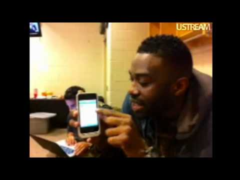 CBE on UStream Backstage on the FAME Tour