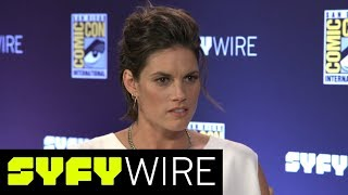 Van Helsing Cast on Season 2 Villains and Reveals | San Diego Comic-Con 2017 | SYFY WIRE - SYFY