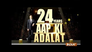 24 Years of Aap Ki Adalat: India TV Editor-in-chief Rajat Sharma appears in the court of children - INDIATV