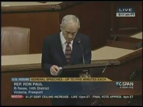 Ron Paul SLAMS Senator Lindsey Graham on NDAA Support During Floor Speech