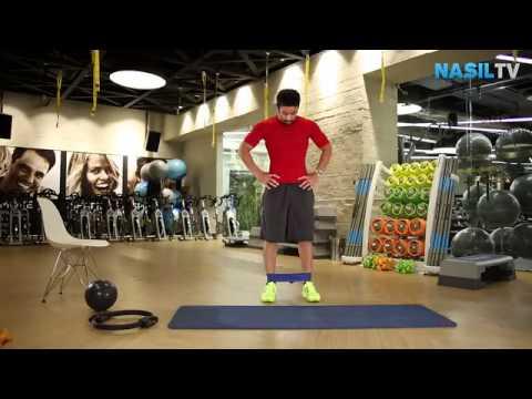 Evde ayakta yapılabilecek dış bacak egzersizleri nelerdir