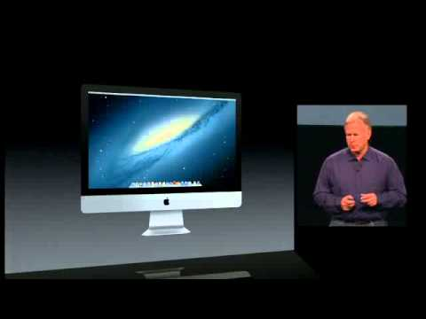 New Apple iMac 2012 - Full Keynote Presentation - HD -Apple Special Event - October 2012