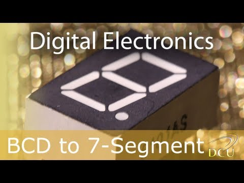 Experiments 4.3: Binary Coded Decimal (BCD) to 7 Segment Display Example