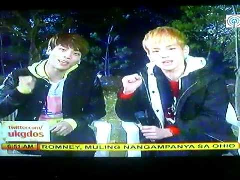 121107 SHINee Jonghyun and Key Interview @ Umagang Kay Ganda (UKG)
