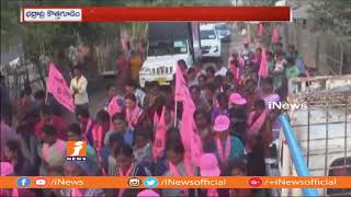 Jalagam Venkat Rao Election Campaign in Palwancha Rural Agency Areas | Kothagudem | iNews - INEWS