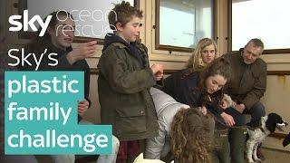 Sky's plastic family challenge - SKYNEWS
