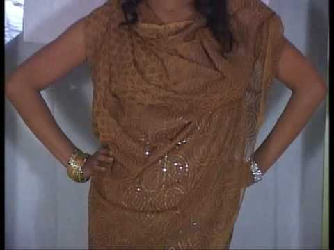 Brown Fancy Banarsi Cotton Salwar Kameez with dupatta
