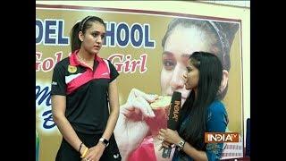 India Tv Exclusive: I follow No-phone policY during games- Manika Batra - INDIATV