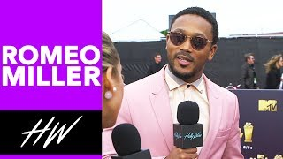 ROMEO MILLER Talks Riverdale Love Triangles, Famous in Love and Fashion at the MTV Movie Awards !! - HOLLYWIRETV