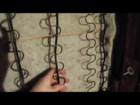 DIY How To Fix / Repair Sagging Couch Springs. Easy Trick