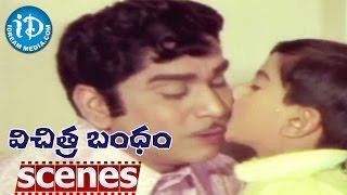 Vichitra Bandham Scenes - Vanisri Asks Apologies To ANR || VaniSri - IDREAMMOVIES