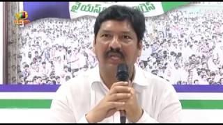 YSRCP Leader Jogi Ramesh Fires On CM Chandrababu Naidu | Mango News - MANGONEWS