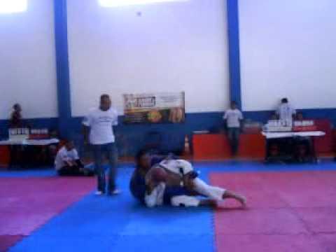 Campeonato de Jiu-Jitsu em Indaiatuba-SP  Renato 2ª Luta